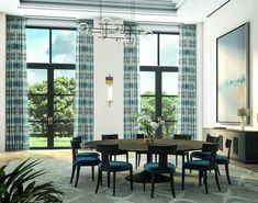 Photography courtesy of Lafayette Interior Fashions. Drapery, Curtains, Interior Styling, Interior Decorating, Interior Design, Modern Farmhouse, Farmhouse Style, Fabric Roman Shades, Window Styles
