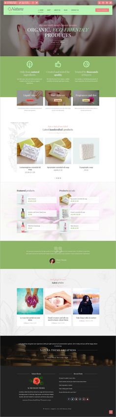 Natura is a wonderful responsive 4in1 #WordPress theme for #organic, Eco and beauty #shop eCommerce websites with 40+ widgets for page builder download now➩ https://themeforest.net/item/natura-wp-theme-for-organic-eco-and-beauty-ecommerce-enabled-websites/18622461?ref=Datasata
