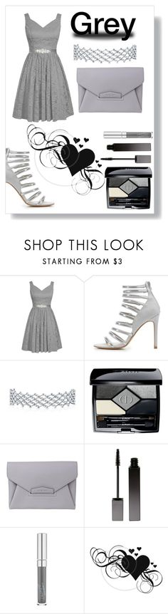 """Grey Date"" by kitty-cat130 ❤ liked on Polyvore featuring Charlotte Russe, Christian Dior, Givenchy and Serge Lutens"