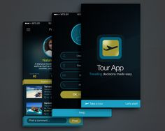 Mobile Application UI Designing (iOS/Android) by xhtmlcut - 87599