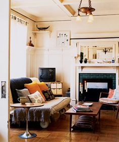 Make Your Furniture Mobile   Living in an apartment, or in an older home with tiny rooms, can present a challenge: how to make your limited space seem larger. Try these easy home-decorating ideas.