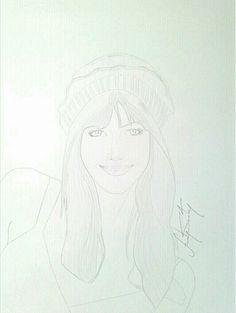 E winstead by: Sam Gonzalez…™ from autodesk sketchbook pro phone...