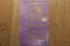 Plaid Simply Stencils Home Sweet Home 28109   eBay