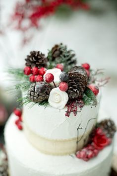 rustic winter wedding ideas