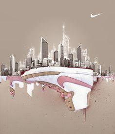 Nike - City Motion by Peter Jaworowski, via Behance