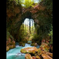 Theogefiro (God's bridge), Zitsa, Greece