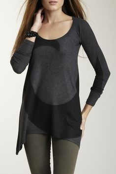 Black Hole Tunic Sweater
