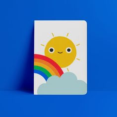 Good Day, Sunshine! Notebook – wunderbär Diy Trend, Good Day Sunshine, Blank Page, Cheer You Up, Thought Of The Day, Scribble, Creative