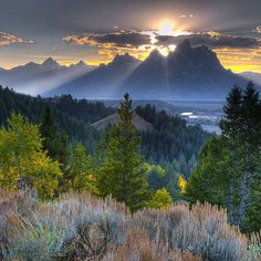 #GrandTeton #NationalPark in #Wyoming is truly breathtaking!