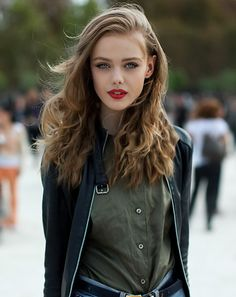 Perfect red lipstick. (Frida Gustavsson)