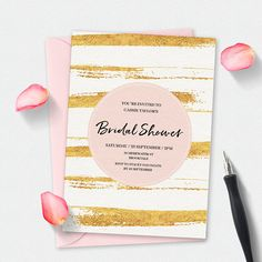 88 Best Pink And Gold Wedding Invitations Images Invitations
