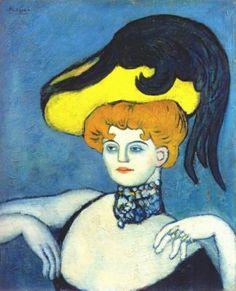 Pablo Picasso.  Curtezană colier