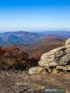Hike the Blood Mountain loop on the Appalachian Trail and Freeman Trail to some of Georgia's most stunning views