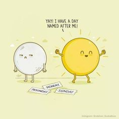 Sorry Moon.  #sundayfunday #iwin #SUNday  Illustration by @nabhan_illustrations