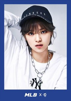 TWICE model for MLB's 2017 Spring collection   allkpop.com