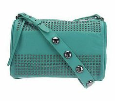Kelsi Dagger Leather Tyler Long Shoulder Bag with Bold Stud