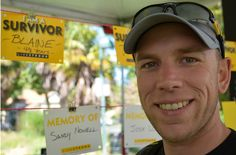 """This past January, after a final physical, blood test and CT scan, my oncologist looked up from my file and said, """"Just as I expected Blaine, you are now cured of your #cancer"""".  Thanks to #LIVESTRONG, I am better than cured, and am as physically and mentally healthy as I have ever been."""