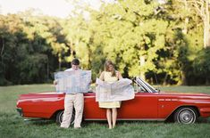vintage car e-session