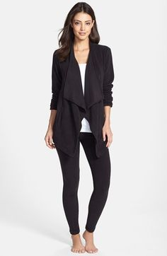 Free shipping and returns on DKNY Cardigan & Leggings Lounge Set at Nordstrom.com. An easy drape-front cardigan and stretchy leggings—both made from cozy microfleece—make a dreamy lounge set.