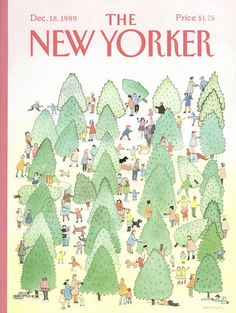 The New Yorker - Monday, December 18, 1989 - Issue # 3383 - Vol. 65 - N° 44 - Cover by : Susan Davis
