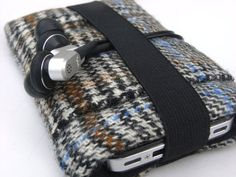 iphone 4 Case / iphone Cover  / Ipod Cozy / Irish Tweed by pomella, $15.00