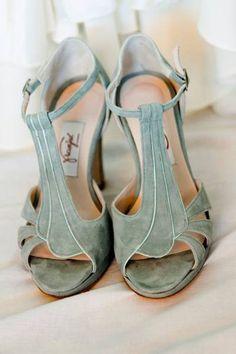 Zapatos de novia de color 2017: Un complemento increíble para darle vida a tu…