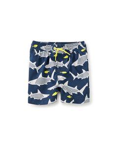111b770c3ba44 Never met a little boy that doesn't love SHARKS. Baby Boy Swim Trunks