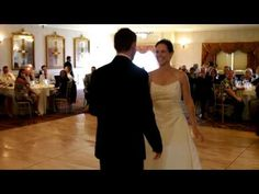 Cute first Dance to hard to concentrate -- our first dance song too