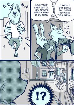 Zootopia News Network: Comic: After the Case, Part 2 (Comic by Bov) (Translated by the ZNN Translation Team)