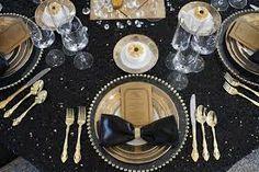 decoraciones de mesas y arreglos para boda en blanco y negro - Buscar con Google