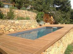 petite piscine hors sol, designs captivants de piscines
