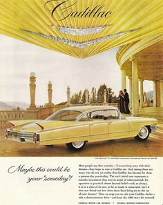 """1960 Cadillac ---my """"Mimi """" drove one just like this in beige!!!!"""