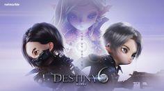 [2017] 데스티니6 _ 키아트 _ light ver. Designer: YewonKim  Copyright ⓒ netmarble games corp. Allright Reserved. #promotion #game #데스티니6 #Destiny6 #keyart #poster