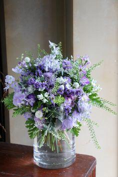 Little Flowers, Fresh Flowers, Spring Flowers, Beautiful Flowers, Blue Wedding Flowers, Purple Flowers, Tropical Flowers, Beautiful Flower Arrangements, Floral Arrangements