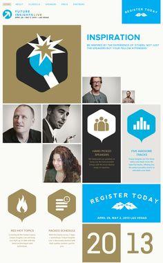 it conference web design