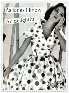 Dearest Pinnie // As Far As I Know, I'm Delightful. #BringBackThePostCard