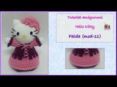Tutorial amigurumi Hello Kitty - Montaje (mod-13) - YouTube