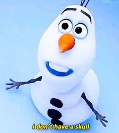Olaf | Frozen (.gif set)