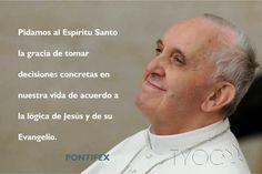 TARJETAS Y ORACIONES CATOLICAS: Pidamos al Espíritu Santo