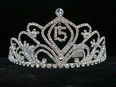quinces tiaras | Mis Quinceanera Tiaras Princess Vine | eBay