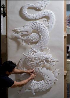 Jeff Nishinaka, Paper Artist  (found on daMuse blog)