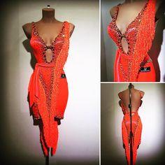 "c0c4d62396 Abraham Martinez on Instagram  "" abrahammartinez  newdress  latin  design   designer  orange  cristal  sun  swarovski  forsale FOR SALE!!"" Salsa  OutfitSalsa ..."