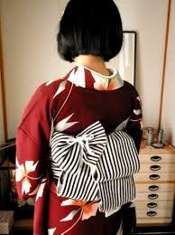 Modern Kimono, Japanese Beauty, Yukata, Japanese Kimono, Ruffle Blouse, Textiles, How To Wear, Tops, Women