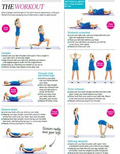 Tone your muscles over all