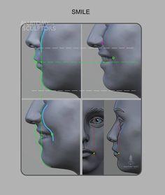 Anatomy For Sculptors - smile