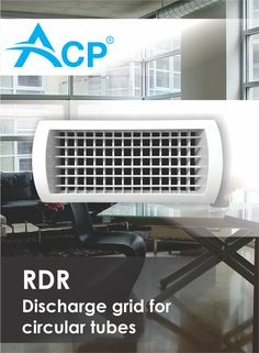 Discharge grid for circular tubes RDR Air Supply, Ventilation System, Grid, Tube, Conditioner, Home Appliances, Products, House Appliances, Appliances