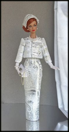 "OOAK Fashions for Silkstone / 12"" Fashion Royalty / Vintage barbie/ Poppy parker 
