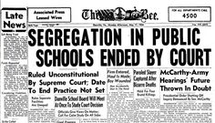 5 Special Things Black People Lost When Schools Were Integrated After Brown v. Board of Education Decision
