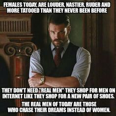#mgtow You mean...they're getting closer to being like men? They cheat almost as much as men do? Be grateful they aren't beating and murdering you like you do to them. This is garbage. This is your own toxicity.
