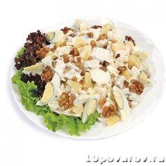 Салат «Курочка-Ряба» из Ленты Potato Salad, Cabbage, Potatoes, Vegetables, Ethnic Recipes, Food, Potato, Veggie Food, Cabbages